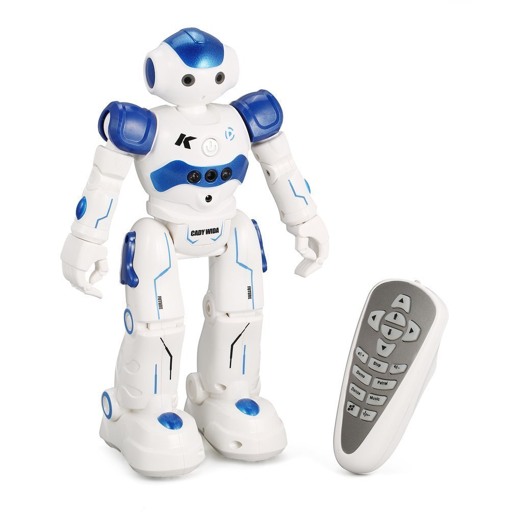 все цены на JJR/C R2 Dancing Robots Intelligent Gesture Control RC Robot Toy for Children Kids Birthday Gift Remote Control Toys Drop Ship