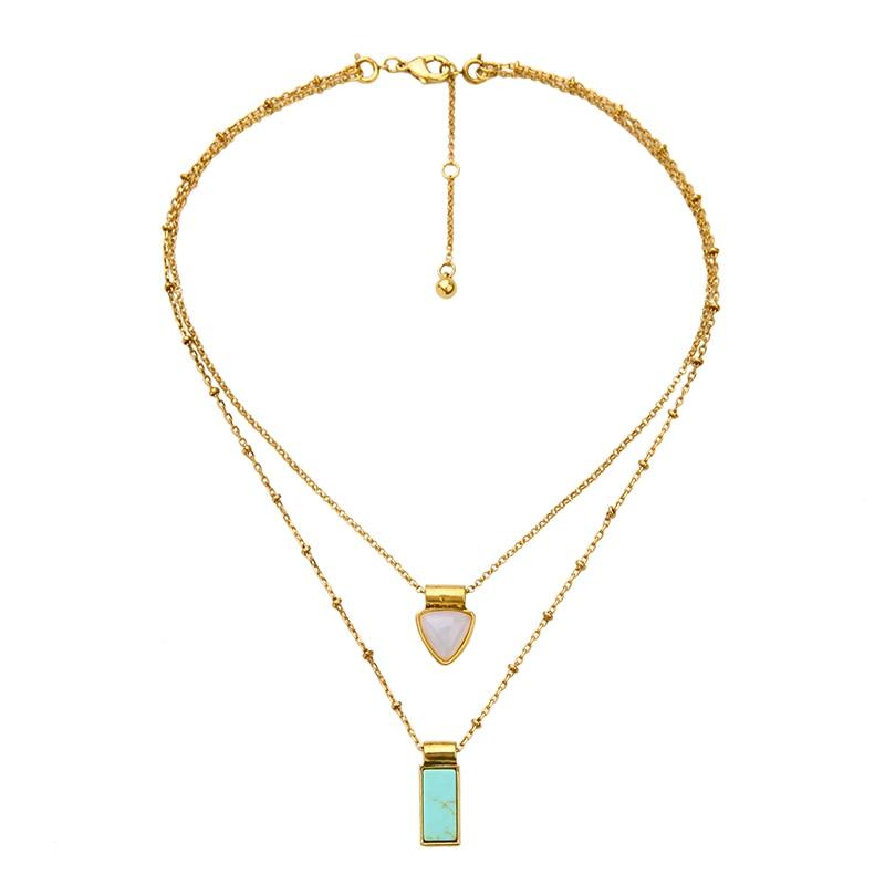KISS ME brändi sünteetilised kaelakeed ja ripatsid Fashion Jewelry - Mood ehteid - Foto 3