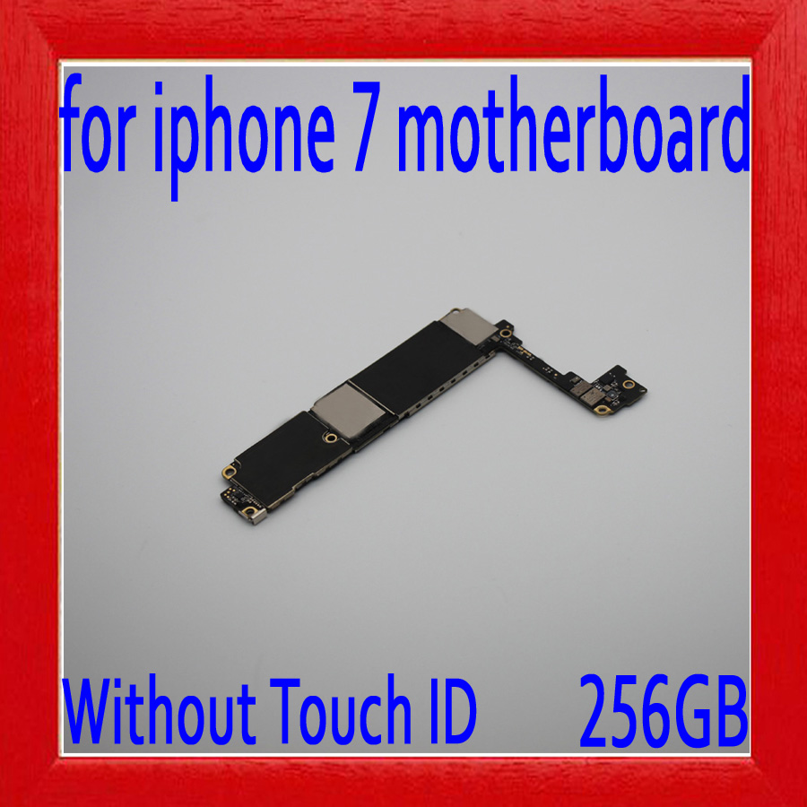 256gb for iphone 7 Motherboard without Touch ID,100% Original unlocked for iphone 7 Mainboard with Full Chips by Free Shipping256gb for iphone 7 Motherboard without Touch ID,100% Original unlocked for iphone 7 Mainboard with Full Chips by Free Shipping