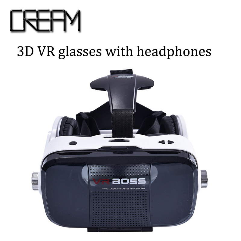 Free shipping font b VR b font boss 3d glasses virtual reality font b vr b