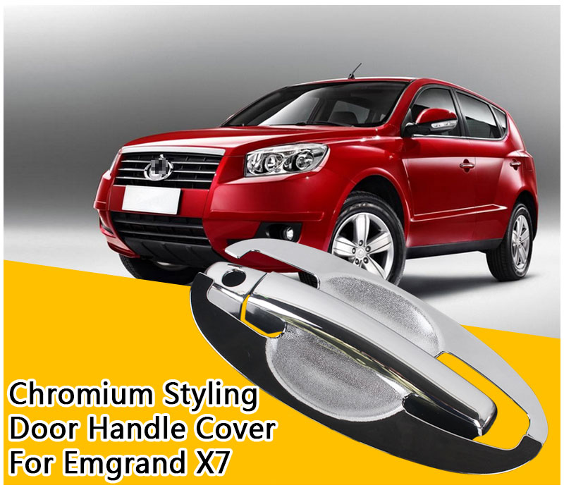 Hot Sale For Geely Emgrand X7 Accessories Chrome Door Handle 2008