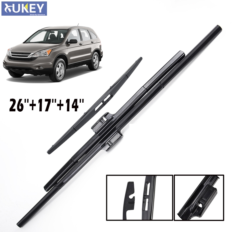 Xukey 26'' 17'' 14'' Windshield Windscreen Wiper Blades