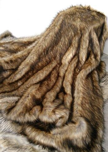 럭셔리 가짜 모피 던져 담요 coverlet 홈 섬유 고급스러운 동물 모피 침대 커버 담요 침대 소파-에서담요부터 홈 & 가든 의  그룹 1