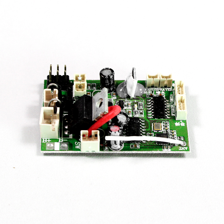 все цены на Free shipping v912 PCB box Receiver board Receiving plate for WL V912 RC helicopter spare part WLtoys Receive Card онлайн