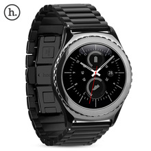 Hoco butterfly pulseira pulseira de aço inoxidável fivela 3 pontos para samsung galaxy gear s2 classic sm-r732 watch band