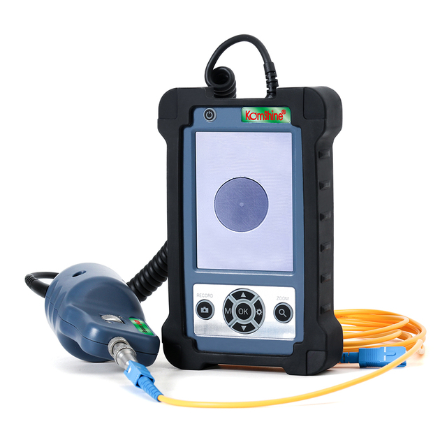 400X Magnification Inspection Probe KIP 600V Fiber Optic Video Inspection Probe and Display, Fiber Optic Inspector with four tip
