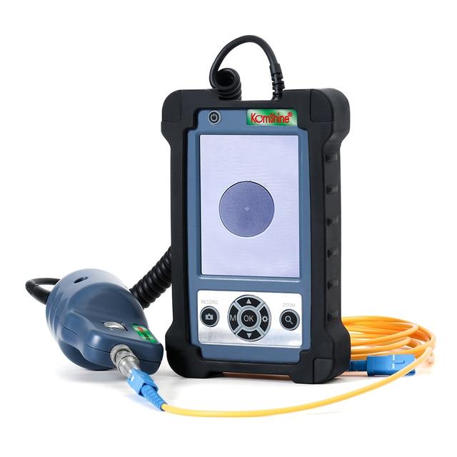 400X увеличительный зонд для осмотра фото и видеосъемки, датчик и дисплей для осмотра оптоволокна, инспектор оптоволокна с четырьмя наконечниками