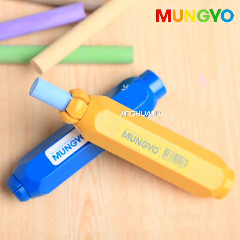 1PC Chalk Clip Extender Clean Dust-Free Colourful Chalk Holders Teaching Hold For Teacher Children Home Education 10pcs pack korea colorful chalk dust free chalk non toxic chalk