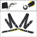 "Seat Belts Style Competition 4 Point Snap-In 3"" Seat Belt for FIA 2020 Racing Harness safety belt seat harness with Camlock"