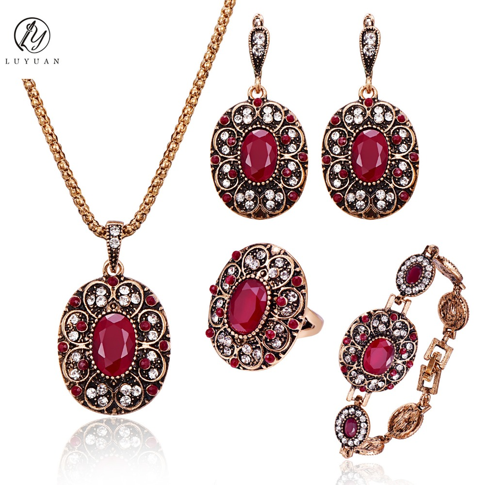 Indiangoldesigns Com Beautiful Antique Bridal Necklace: Fashion Vintage Bridal Jewelry Sets Elegant Colorful