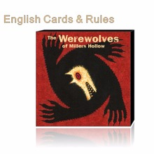 Werewolves with english rules Millers Hollow family game board game card game
