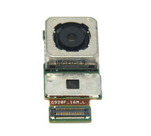 free shipping Back rear main camera Lens module Flex ribbon Cable For Samsung Galaxy S6 Edge G925F G925S G925V G925i G925S