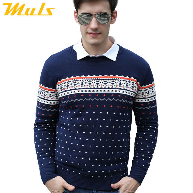 Men pullover brand peru ugly cotton male sweater long for Sweater over shirt men
