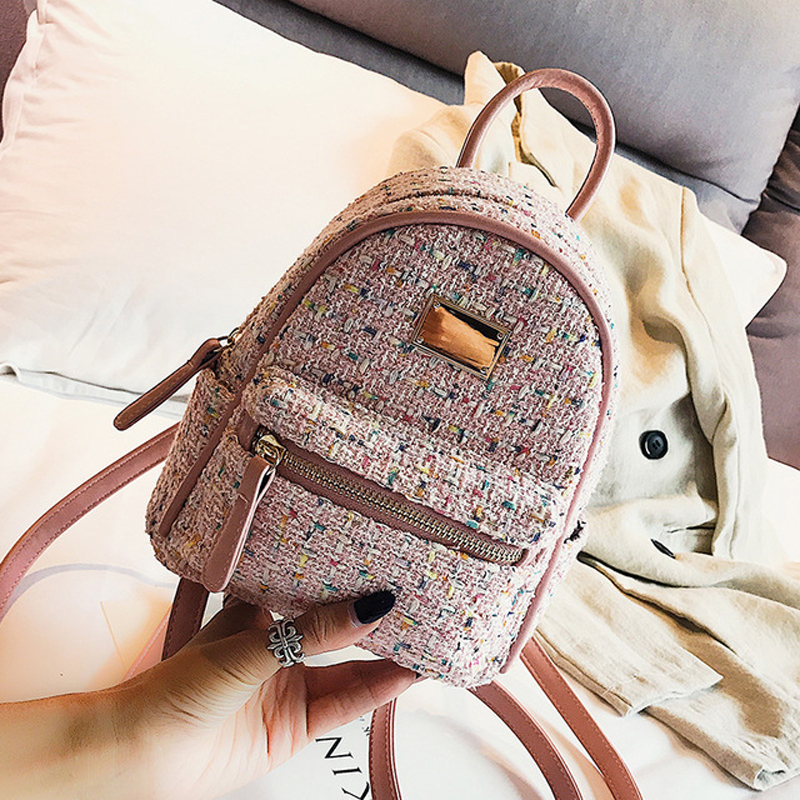 Women Fashion School Bags Mini Backpacks women's bag