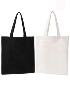 10 pieces/lot 2018 Large reusable grocery tote bag big foldable shopping bag canvas cotton ecobag more than 100 Can Custom(China)