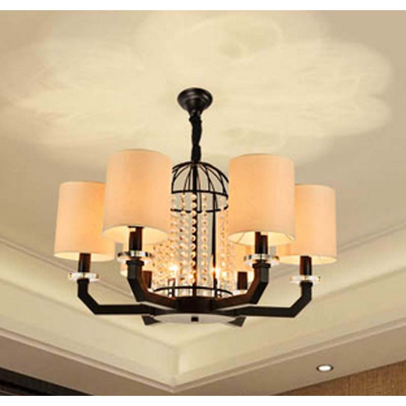 Pendant Lights ancient lights European American living room lights new Chinese style lamps modern minimalist iron lamps LU816314 american country crystal pendant lights european style living room modern bedroom restaurant candle iron lamps lu809182t107