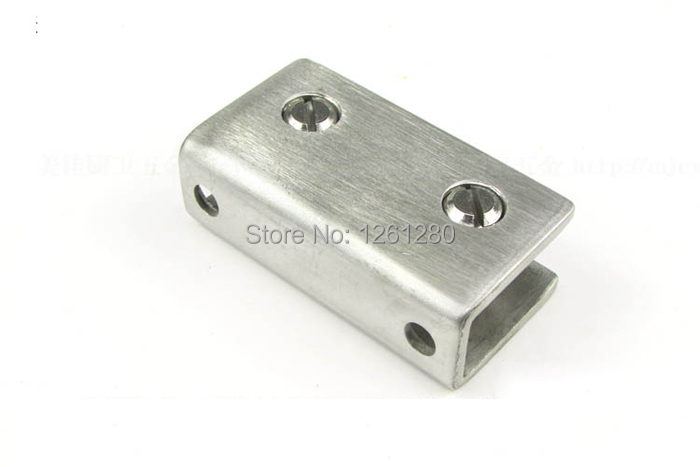 Free shipping stainless steel glass clamp door hardware