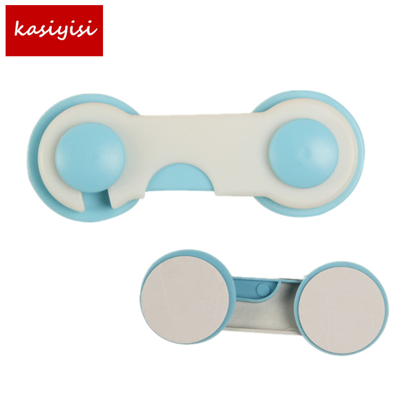 6pcs/lot Multi-function Child Baby Safety Lock Cupboard Cabinet Door Drawer Safety Locks Children Security Protector