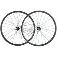 MTB велосипед 29ER углеродистой колесной Набор 30 мм ширина 25 мм Глубина горные карбоновые велосипедные колёса Hookless китайский полный углеродно