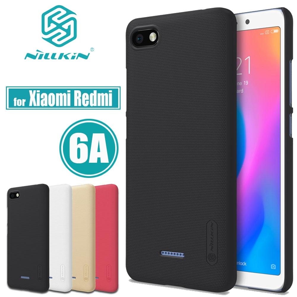 Xiaomi Redmi 6A Cases Redmi 6A Cover Nillkin Frosted Matte Hard PC Plastic font b Phone