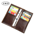 Male Leather Purse Men's Clutch Wallets Business Carteras Mujer Wallets Men Brown credit card id holder Dollar Price R-8119Q