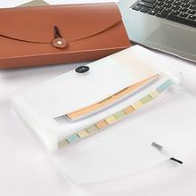 Пластиковый держатель для файлов, папка, папка для бумаг, сумка для купюр, маленькая сумка для хранения документов, посылка, Офисная организация, школьные принадлежности