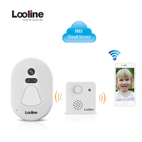 Doorphone Wireless Intercom IP Camera Wi Fi Looline Wifi Door Bell Camera Video Porteiro Eletronico IP