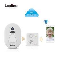 Wifi Doorbell Camera Wireless Intercom IP Camera Wi Fi Looline Wifi Door Bell Camera Video Porteiro