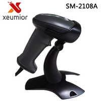 SM-2108 Auto-sensor High Quality USB Portable Laser Barcode Scanner Barcode Reader Code bar Free Shipping Drop Shipment