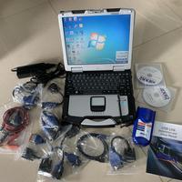 NEXIQ Авто сверхмощный сканер для грузовиков инструмент NEXIQ USB Link 125032 диагностическое программное обеспечение с ноутбуком cf30 сенсорный ПК 2 го
