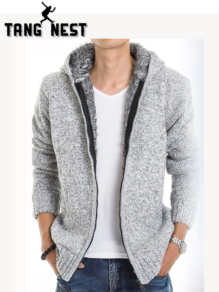 TANGNEST 2019 Fur Inside Thick Autumn & Winter Warm