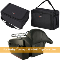 for Harley Electra Glide 1993 2013 Tour Pak Liner Luggage Bag Black Expandable Inner Bags Container Classic FLHTC FLHTK FLHTCI