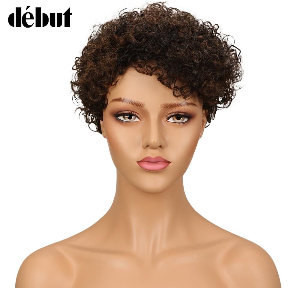 US $28.5 24% OFF|Debut Hair Short Human Hair