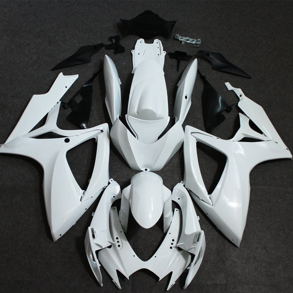 цены  ABS Plastic Unpainted Fairing For Suzuki GSXR600 GSXR750 GSXR 600 750 K6 2006 2007 GSX-R600 GSX-R750 06 07 Injection Fairings