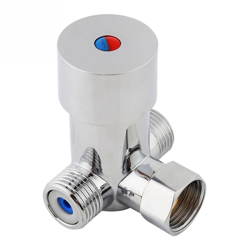 Hot Cold Water Mixing Valve Thermostatic Mixer Temperature