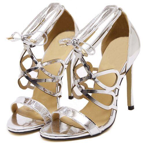 Online Get Cheap Shiny Silver High Heels -Aliexpress.com | Alibaba ...