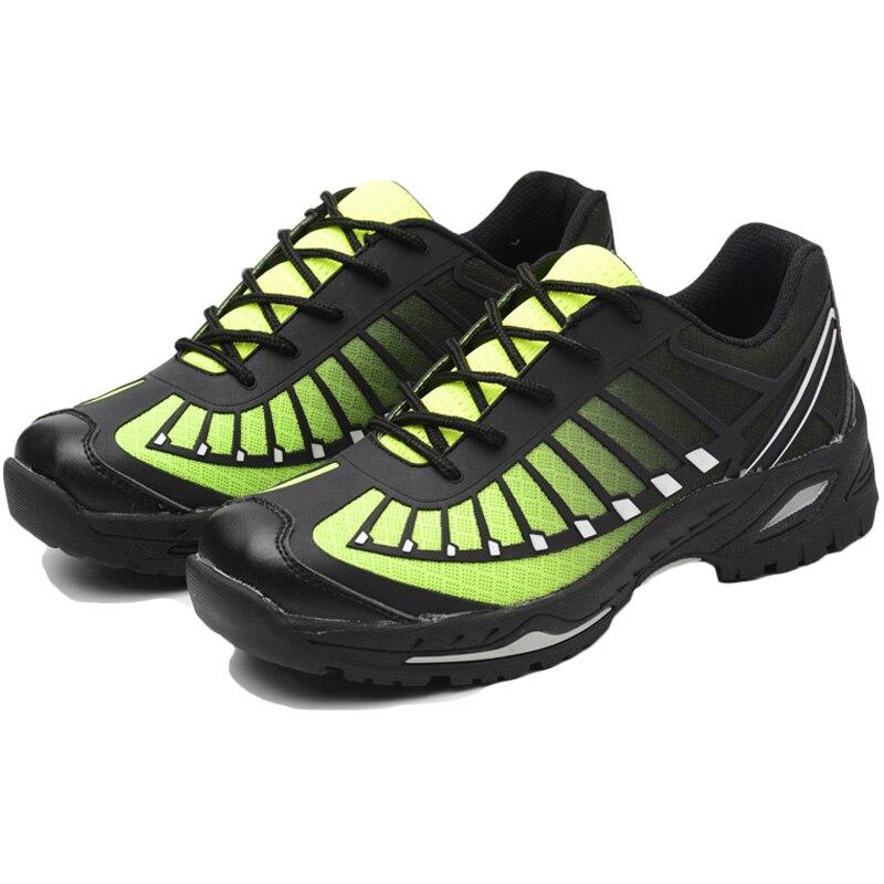 2019 nouveaux hommes Trekking semelle en caoutchouc chaussures antidérapantes en plein air travail chasse randonnée respirant baskets conception
