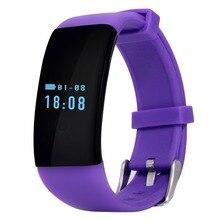 D21 Bluetooth Smartwatch Smart Uhr Armband Armband Band Herzfrequenz Smartband Aktivität Tracker Fitness für IOS Android
