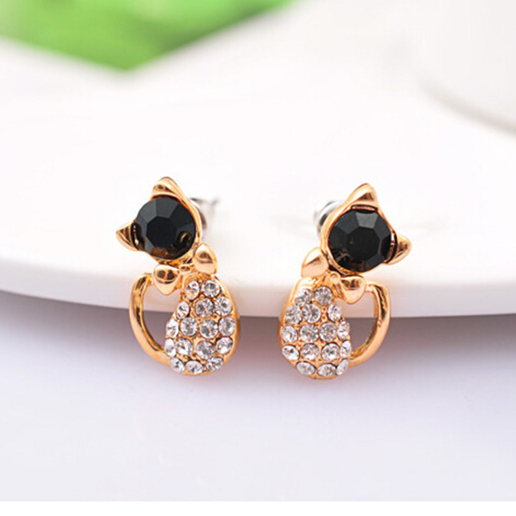 Europe And The United States New Fashion Jewelry Earrings Angel Bow Earrings Earrings Mixed Color Gifts For Girls Wholesale