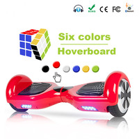 Electric Skateboard Hoverboard Self Balancing Scooter two 6.5 inch Wheel with Led Bluetooth Speaker 6.5 inch EU/RU warehouse