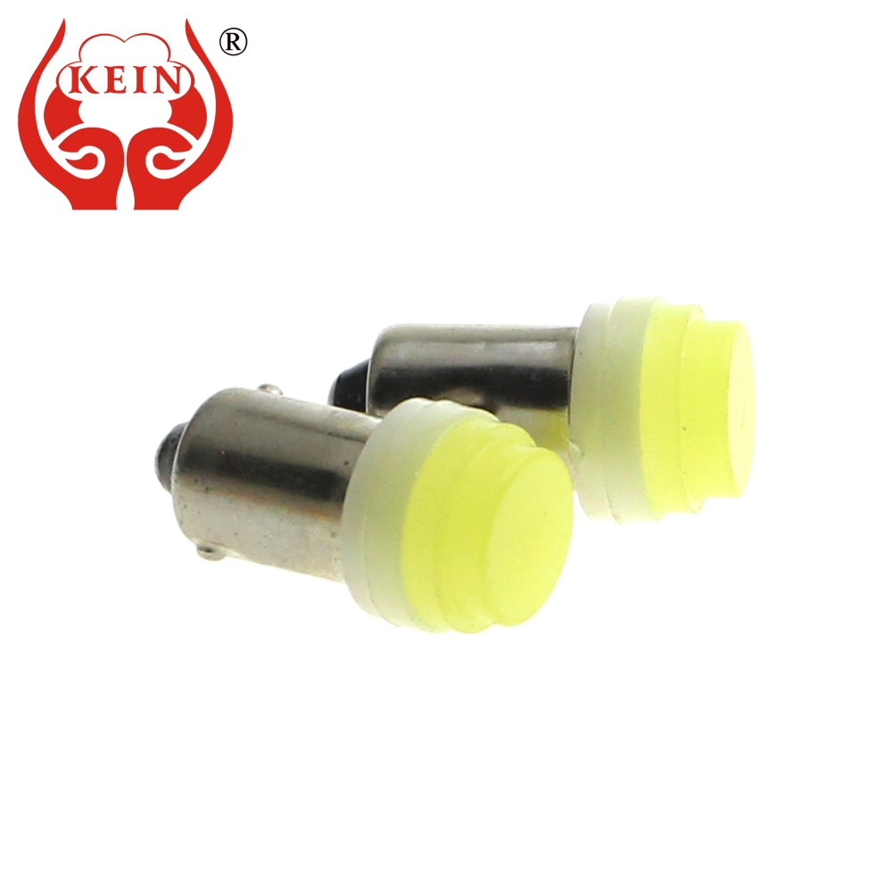 KEIN 10PCS BA9S T4W 363 astigmatism COB car led License Plate Light Pure White Clearance Trunk Reading Interior Lamp Door Bulb 1day acuvue for astigmatism