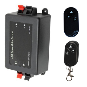 Image 4 - DC 12V 24V Wireless Remote Control Light Switch 8A 1 Channel Relay Remote Control Switch Receiver Module + RF Transmitter