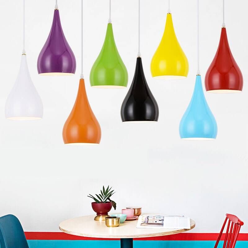 Modern Pendant Lights Colorful Aluminum LED Pendant Lamps For Living Room Dinning Room Kitchen Fixtures Hanglamp LightingModern Pendant Lights Colorful Aluminum LED Pendant Lamps For Living Room Dinning Room Kitchen Fixtures Hanglamp Lighting