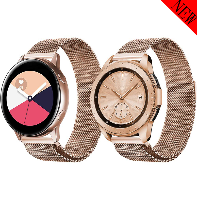 20mm 22mm Strap For Samsung Galaxy Watch 46mm 42mm Gear S3 Frontier/classic S2 Huwei Watch Gt Amazfit Bip/gts/GTR 47mm/42mm Band