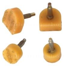 GUGULUZA 5 Pairs Ladies Shoes Repair Stiletto Tip Pin Tap Dowel Lift Replacement 3mm Pin