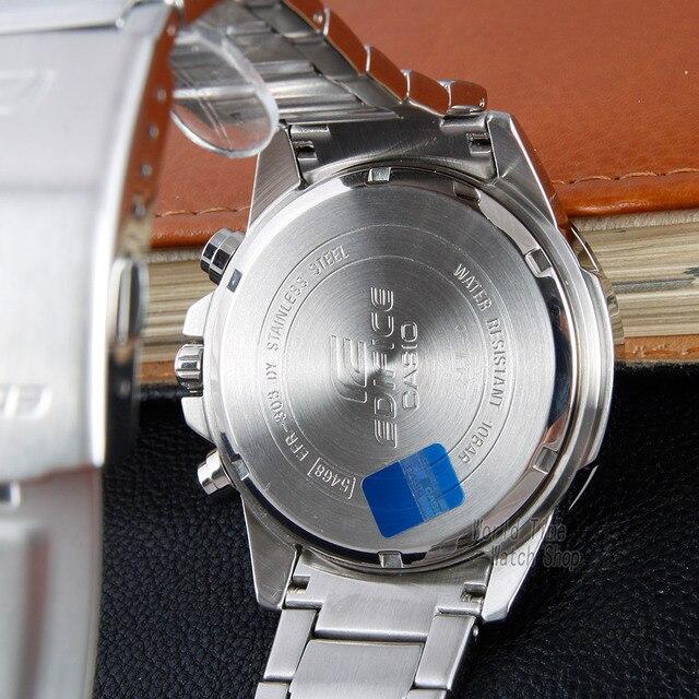 Casio Edifício homens relógio explosão Top marca de luxo definir novo relógio de pulso de quartzo 100m homens impermeável esporte militar relógio de pulso Dual Dial tempo do mundo relógios luminosos reloj hombre erkek 3