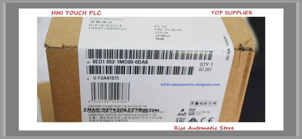 6ED1052-1MD00-0BA6 new original 12/24RC logo plc boxed цена и фото