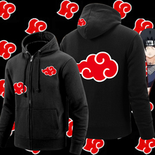 Men Naruto Jacket Thick Zipper Sweatshirts