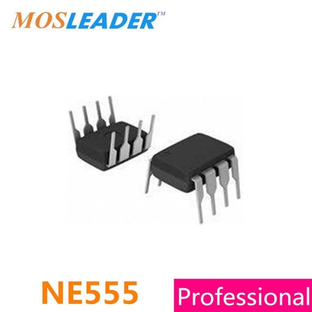 Mosleader NE555 DIP8 1000 Uds NE555P IC hecho en China de alta calidad