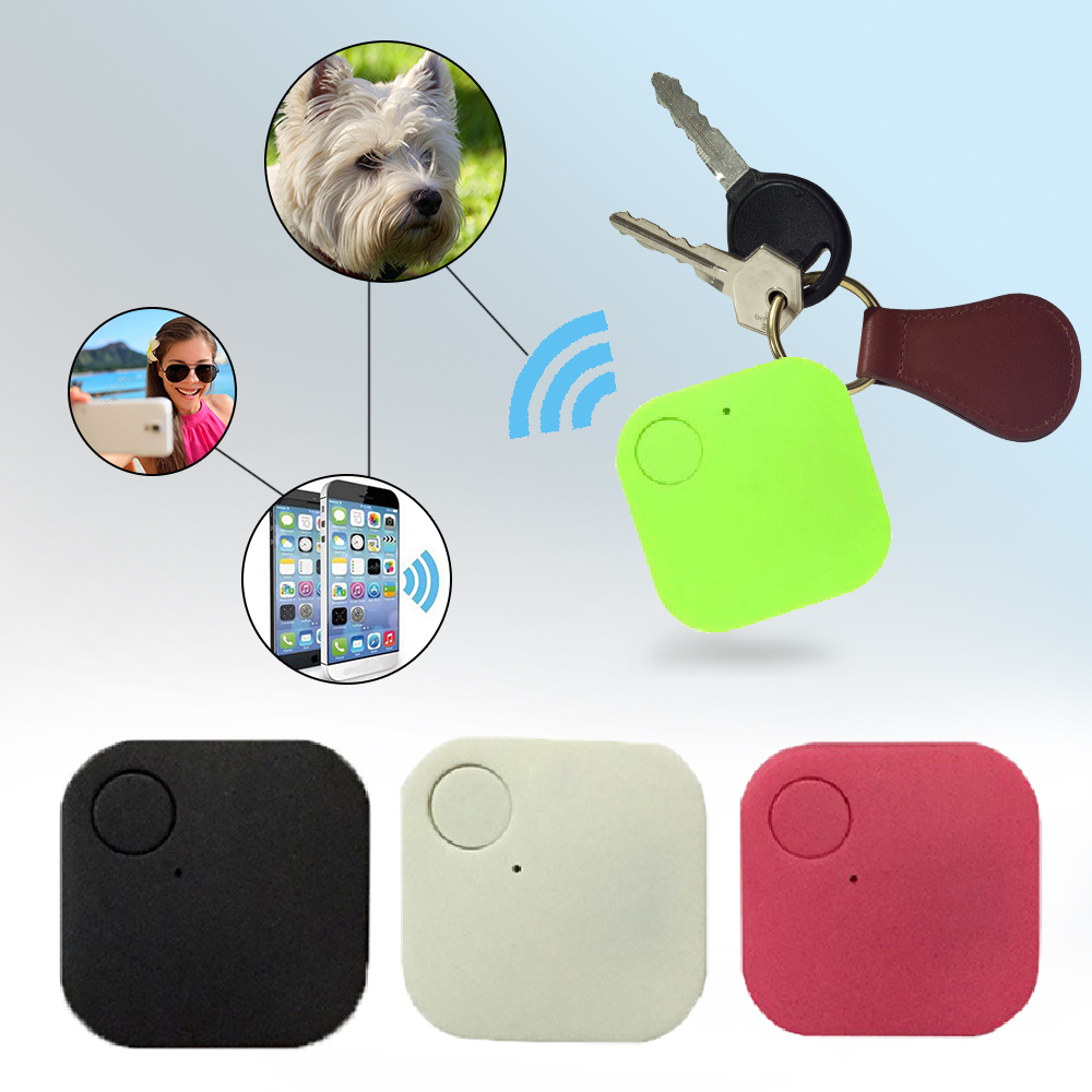 New Suqare GPS Tracker Pets Kids Wallet Keys Alarm Locator Realtime Finder Device For Dogs Cats Pets Finger Equipment Supplies (2)